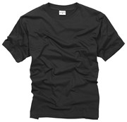 100% Cotton Basic T-shirt - Black