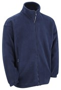Quality Polar Fleece Top- Navy