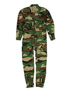 Continental Flight Suit - Woodland Camo