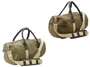 Gym Bag- Canvas & Lautherette
