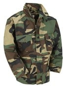 Kid Combat Jacket Woodland Camo