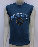 US Muscle Fit Tank Top- NAVY