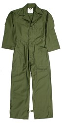 US Military Coveralls Cotton Sateen Olive