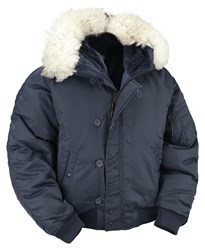 N2B Extreme Weather Flight Jacket- Navy
