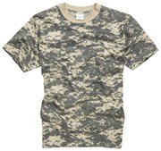100% Cotton Basic Military Style T-shirt -Digital Desert