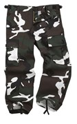 Colourful Camo Kid/Youth Combat Trouser Green