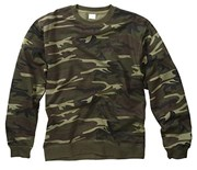 Camo Pattern Sweater Woodland