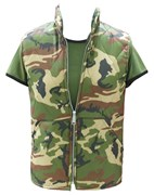 Paded Camouflage Ladies/Girls Vest