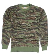 Camo Pattern Sweater Tiger Stripe