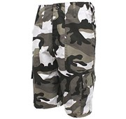 Combat Camo Shorts Urban Grey