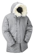 N3B Extreme Weather Parka- Silver