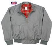 Classic Harrington Jacket Grey