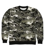 Camo Pattern Sweater Urban