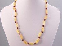 All About Amber Teething Necklace - Cherry and Butterscotch