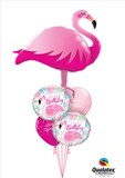 Pink Flamingo Birthday Balloon Bouquet