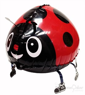 Lola Lady Bug Walking Pet