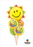 Sunshine Get Well Balloon Bouquet