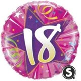 Pink 18th Birthday Balloon In A Box