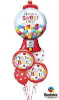You're The Best - Love Balloon Bouquet