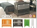 bloom baby alma mini crib package with FREE lollipop bedding