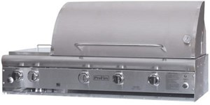 ProFire Professional Deluxe Series 48-Inch Built-In  Gas Grill With Double Side Burner & SearMagic Grids  - PFDLXSM48S