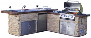 Bull - Gourmet Q - Outdoor Island Kitchen