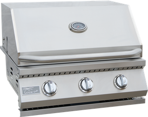 KoKoMo 3 Burner Built In Grill - KO-BAK3BG