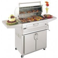 Fire Magic Charcoal Grills 30 Inch Legacy On Portable Cart #24-S101C-61