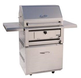 Luxor 30 Inch Free Standing Charcoal Grill AHT-30-CHAR-F