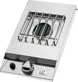 Delta Heat Single Side Burner -  DHSB1D-C