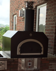 Chicago Brick Oven CBO-750 GAS/WOOD HYBRID COUNTERTOP Wood Fired Pizza Oven