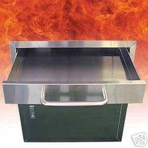 BULL OUTDOOR PRODUCTS STAINLESS STEEL DRAWER 9970