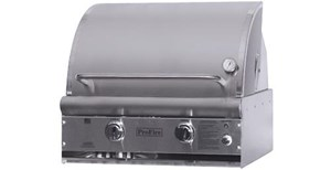 ProFire Professional Deluxe Series 27-Inch Built-In  Gas Grill With Rotisserie & SearMagic Grids - PFDLXSM27R