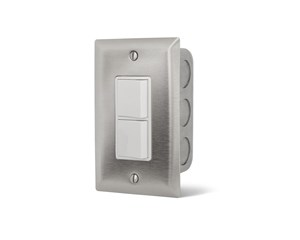 Infratech Single Duplex/Stack Switch  (In Wall) For Electric Heater  14-4300