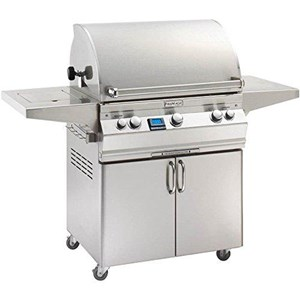 Fire Magic Aurora A660s on Cart Natural Gas Bbq Grill- with rotisserie A660s-6E1n-62