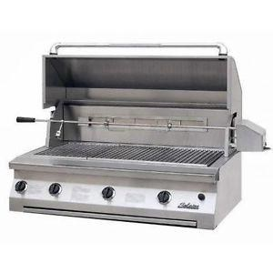 Solaire 42-in InfraVection Built-In Grill w One IR Burner | Rotisserie | LP | SOL-AGBQ-42VV