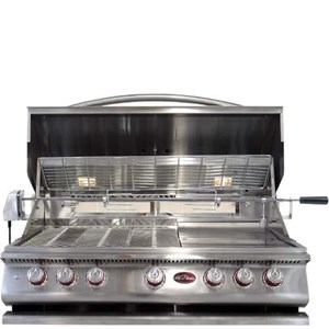 CAL FLAME 40 INCH BUILT IN GRILL P 5 BURNER #BBQ13P05