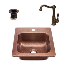 RCS  COPPER SINK AND FAUCET - RSNK3  NEW 2018 MODEL