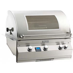 Fire Magic Aurora A660i Built-in Natural Gas Bbq Grill With 1 infrared burner and Magic View Window - A660i-5L1n-w