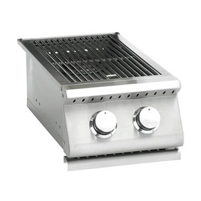 SUMMERSET SIZZLER STAINLESS STEEL DOUBLE SIDE BURNER SIZSB-2