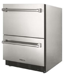Luxor Stainless Steel Outdoor Refrigerator With Two Drawers- AHT-OD-RF2