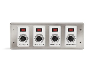 Infratech Four  Zone Analog Control With Digital Timer For Electric Heater- 30-4048