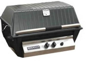 BROILMASTER PREMIUM GAS GRILL HEAD w/Charmaster Briquets, Natural Gas #P4XN