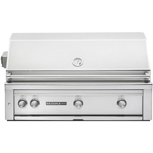 Lynx Sedona 42-Inch Built-In Gas Grill With One Infrared ProSear Burner And Rotisserie L700PSR