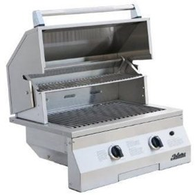 """Solaire 27"""" Deluxe InfraVection Gas Built-In Grill, Stainless Steel  SOL-IRBQ-27GVIXL"""