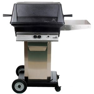 PGS A30 Cast Aluminum Natural Gas Grill/ Stainless Steel Portable Pedestal Base AG30NG+ASPED+ANC