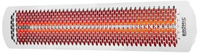 Bromic Heating Tungsten Smart-Heat 44-Inch 4000W Dual Element 240V Electric Infrared Patio Heater - White - BH0420012