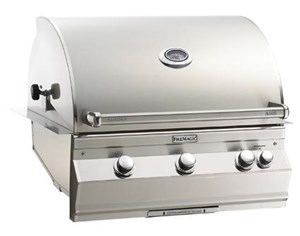 Fire Magic Aurora Built In Gas Grill - Natural Gas, With Rotisserie & Infrared burner - A660i-6L1n
