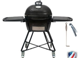 PRIMO OVAL JR 200  ALL-IN-ONE CERAMIC GRILL #PRM7400