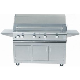 ProFire Professional Series 48-Inch Freestanding Infrared Hybrid Gas Grill - PF48GIH + PF48SSCBN